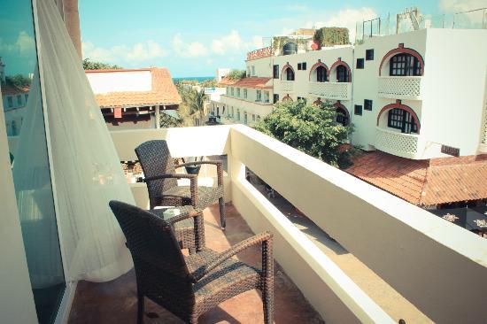 Hotel El Punto: Master Suite View