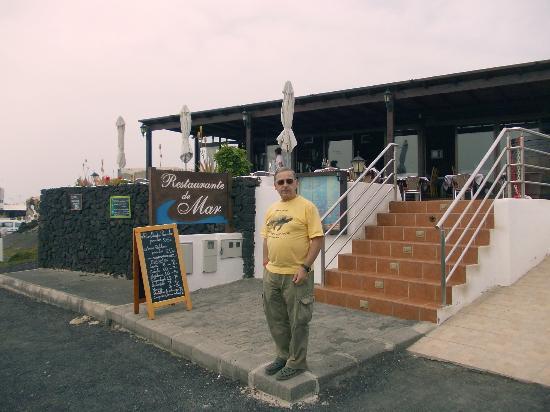 EL Golfo, España: Esterno del ristorante