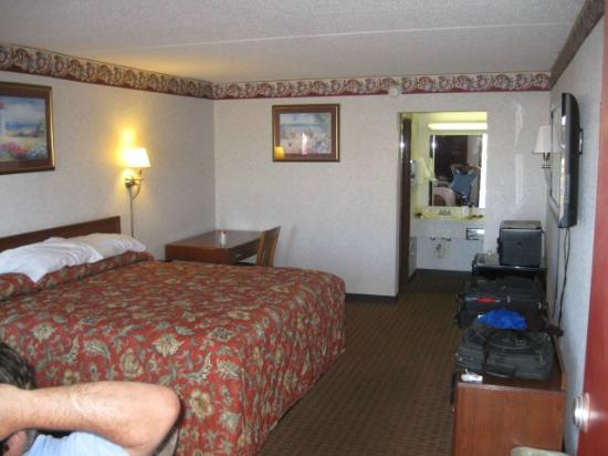 Econo Lodge: View from door