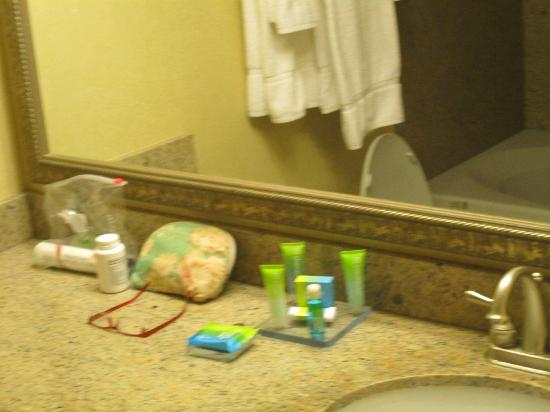 Radisson Hotel Providence Airport: Great amenities in the room!