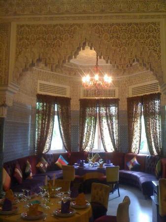 Jnane Sherazade: la salle à manger