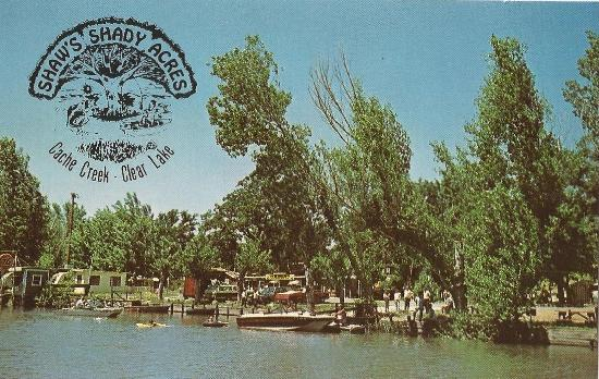 vintage 1970s Shady Acres Campground