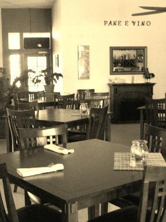 Pane E Vino: Inside Restaurant