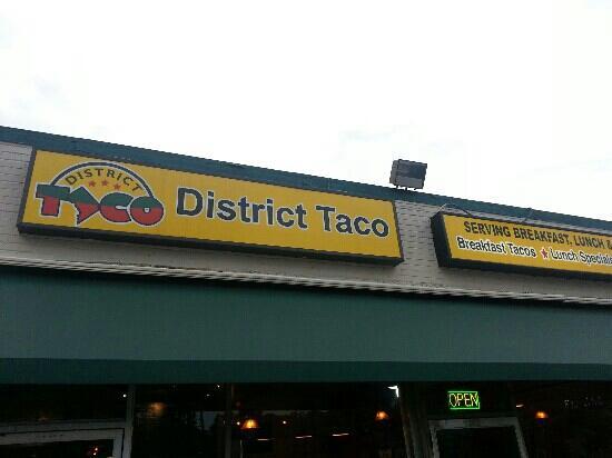 yeah! district taco in Arlington