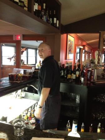The Pilot House Restaurant & Lounge: Danny - great bartender!