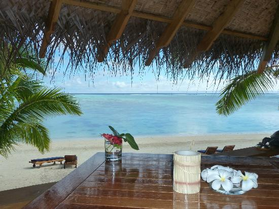 Etu Moana: View from the deck - Villa 10 