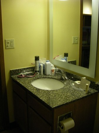 TownePlace Suites Falls Church: Bathroom