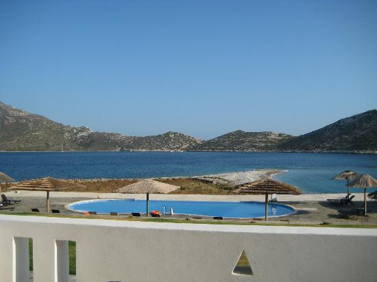 Aquapetra Hotel: View from my room