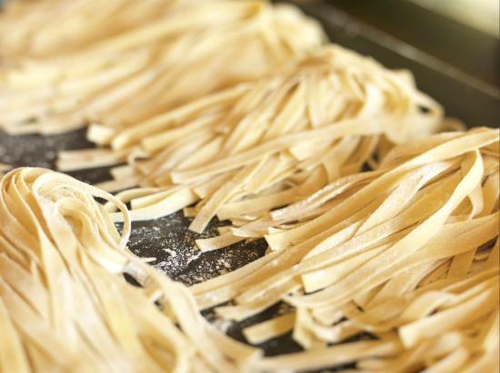 Spina: Freshly made Fettucini