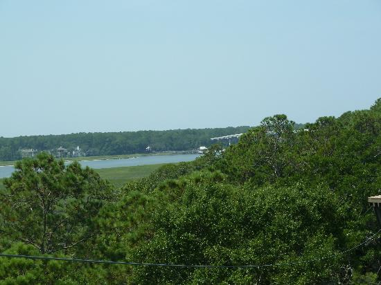 Hilton Head, SC: View from the platform of Broad Creek!