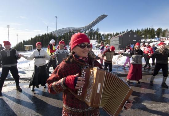Scandic Holmenkollen Park: Holmenkollen Ski Arena