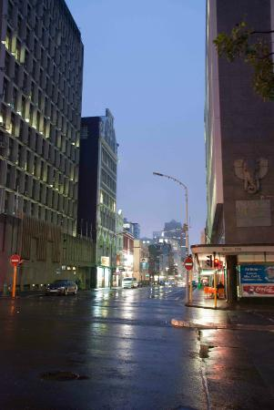 Early morning on Long Street in Cape Town