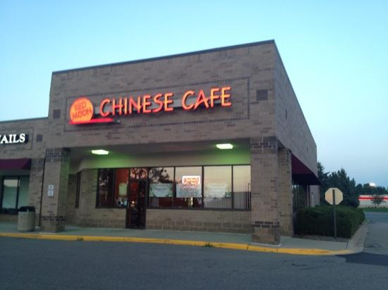 Red Moon Chinese Cafe: from the outside