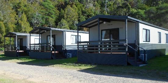 Sapphire Valley Caravan Park: Our Deluxe Bungalows