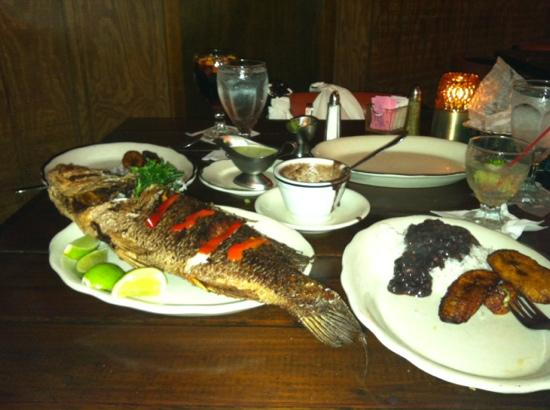 Don Arturo: fresh Red Snapper