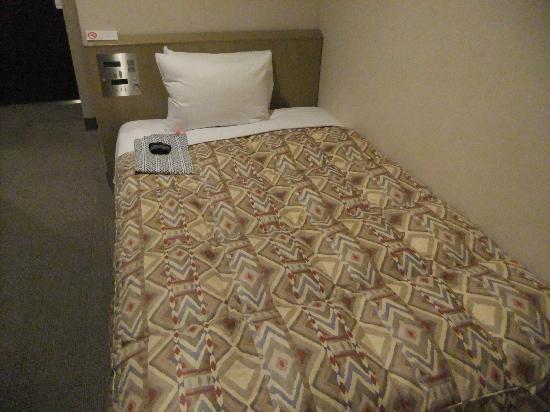 APA Hotel Kamata Eki Nishi: ベッドはシングルサイズ
