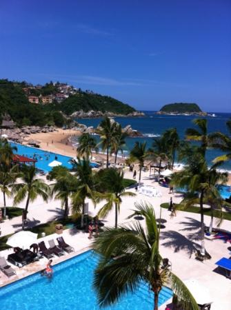 Dreams Huatulco Resort & Spa: Vista desde la torre 4, Plata 4