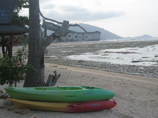 Coco Garden Resort: Beach fragment 