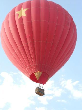 Morning Star Balloons: our balloon ride