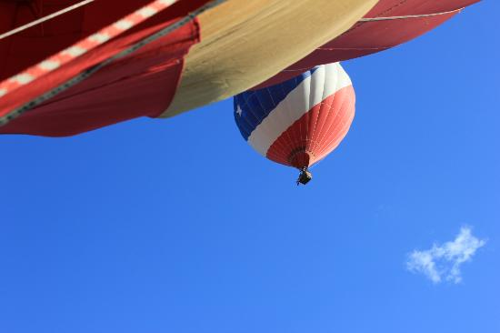 Morning Star Balloons: another morning star balloon above us