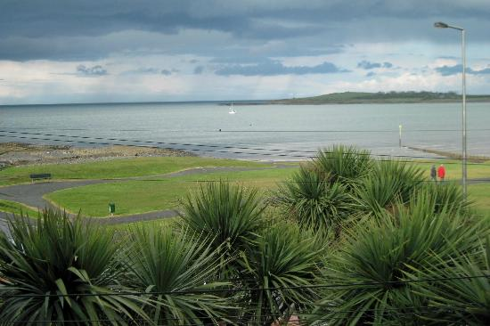 View of bay from the front of the Cairn Bay Lodge
