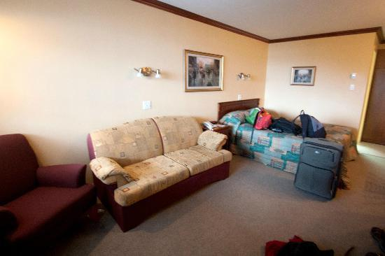 Hotel Plante : Deluxe room with queen bed