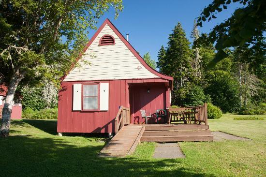 Fundy Highlands Motel & Chalets: Our chalet