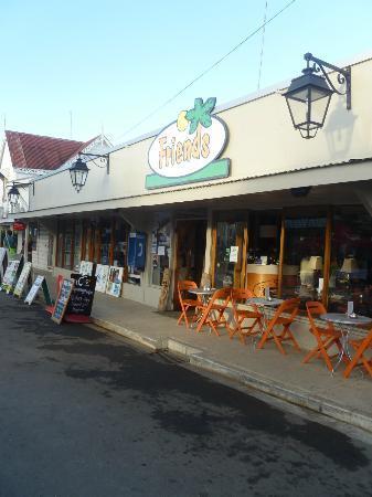 Friends Cafe on Taufa'ahau Road Nuku'alofa Tonga.