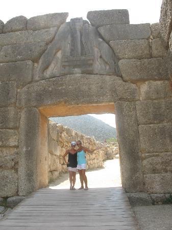 Ιππολύτη: Lion's Gate at Mycenae