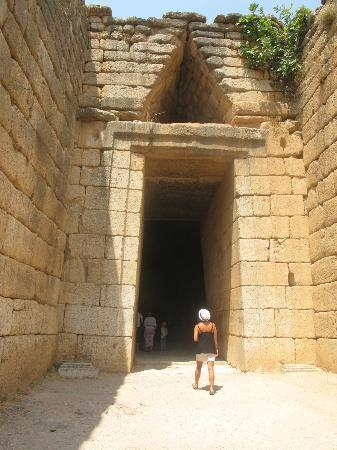 Ippoliti Hotel: Ouside Beehive Tombs at Mycenae