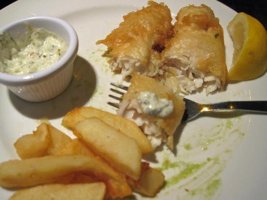 Coyles: Fish & Chips, and Mushy Peas