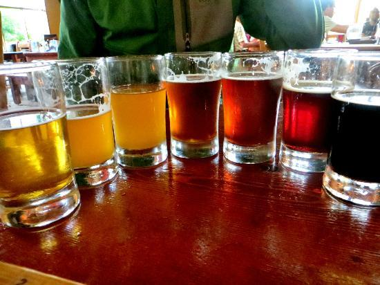 Howe Sound Brew Pub: Taster Tour Selections
