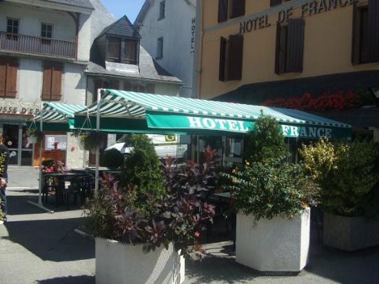 Hotel de france : Terrasse d'Été de l'Hôtel de France