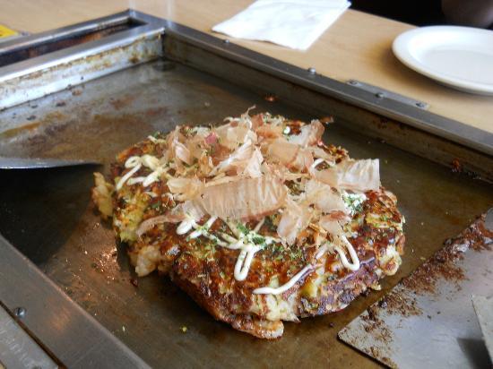 Gaja Japenese Restaurant: DIY Okonomiyaki