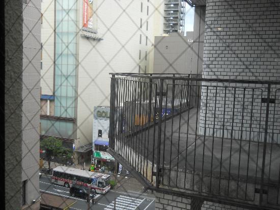 IP CITY HOTEL Fukuoka: Balcony