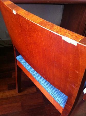 Cumulus Pinja: outdated furniture
