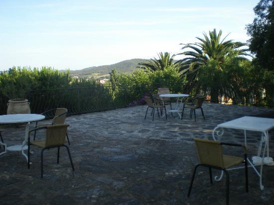 Hotel Paradis : Terrasse