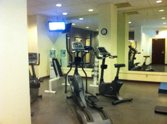 Holiday Inn Conference Ctr Edmonton South: Gym