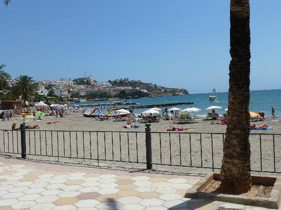 Apartments Mar y Playa: ausblick auf den strand direkt and der promenade zum strand