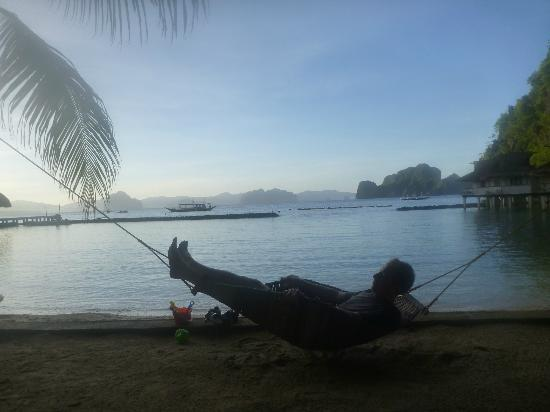 El Nido Resorts Miniloc Island: relaxing
