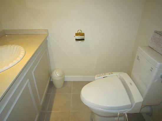 Sir Winston Hotel: トイレはバスルームから離れて配置