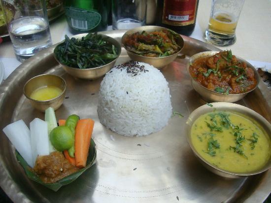 Dwarika's Hotel: thali