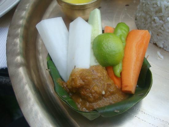 Dwarika's Hotel: lunch offering