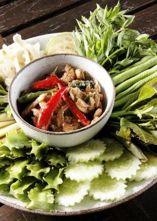 Kan Eang@Pier Restaurant: Nam pic Kung seab