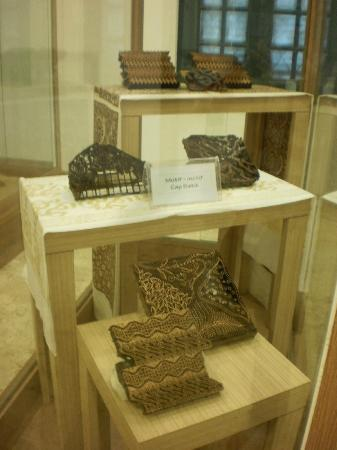 Museum Tekstil: Moulds for Batik Design