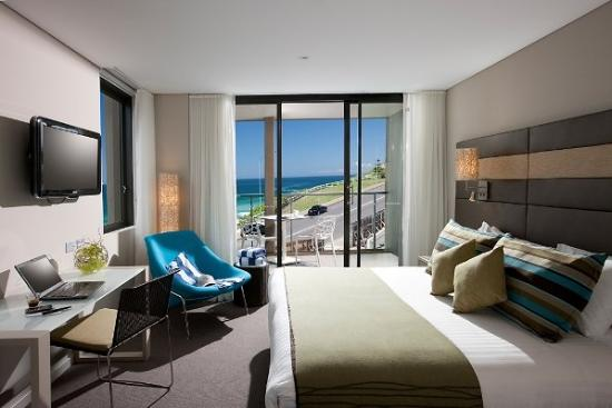 Novotel Newcastle Beach: Ocean View Balcony Studio Room