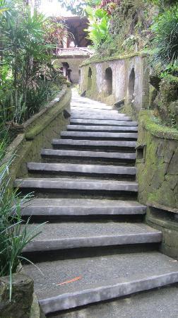 بيتا ماها: Stairs, stairs, stairs... Beautiful... But beware. 