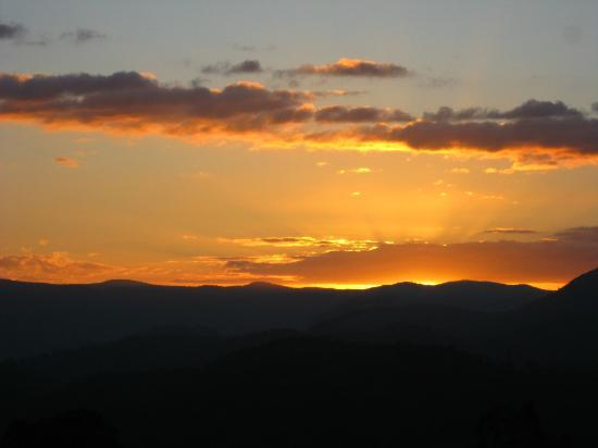 Maleny Hideaway: Sunset view