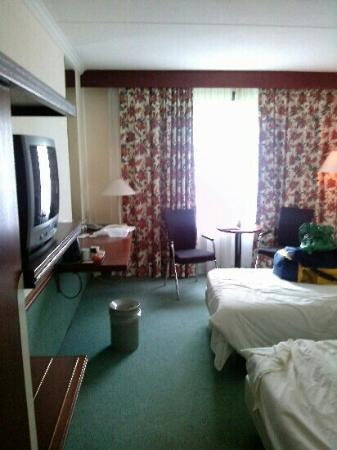 Postillion Hotel Arnhem: de comfort kamer