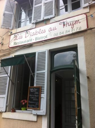 Argenton-sur-Creuse, Francia: la devanture